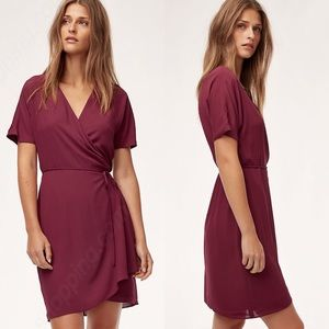Aritzia | Babaton Wallace Wrap Dress